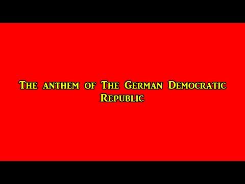 Anthem of The German Democratic Republic (Instrumental)