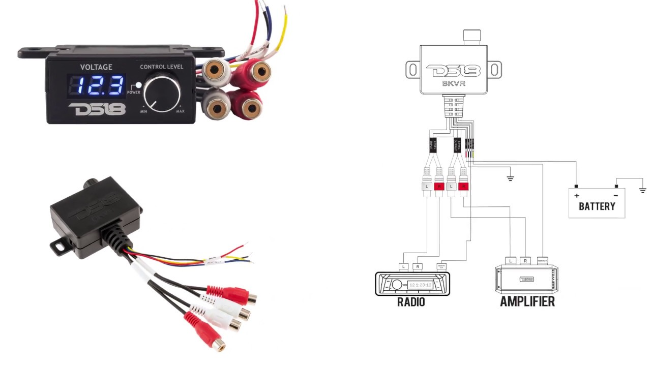 small resolution of ds18 remote level control with voltmeter display