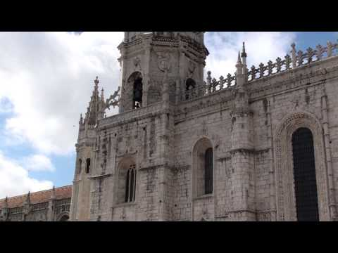Mosteiro dos Jerónimos - Estilo Arquitectónico (Manuelino) Parte 1 Exterior.