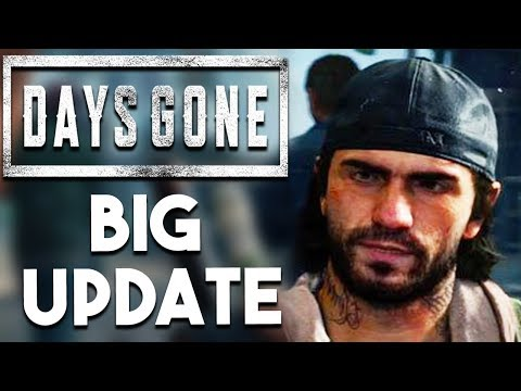 PS4 EXCLUSIVE Days Gone BIG Update and The DREAM Final Fantasy Game?