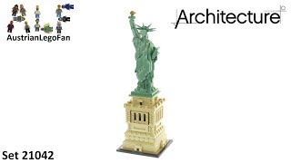 Lego Architecture 21042 Statue of Liberty - Lego Speed Build Review