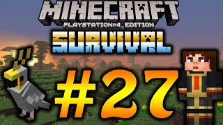 Let's build something cool!!! | Minecraft PS4 Edition Survival #27