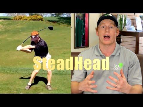 REED HOWARD GOLF TRAINING AID the STEADHEAD