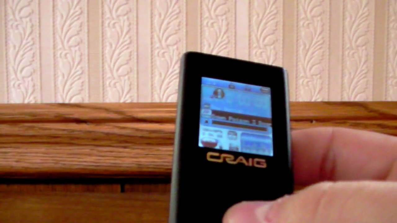 how to use a craig mp3 mp4 player youtube rh youtube com craig 4gb mp4 player manual