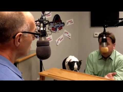 Todd Oliver and Irving the Talking Dog Visit Townsquare Media
