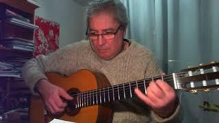 Rhythm Of The Rain - for solo guitar