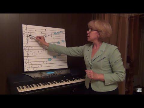 Как записать мелодию нотами