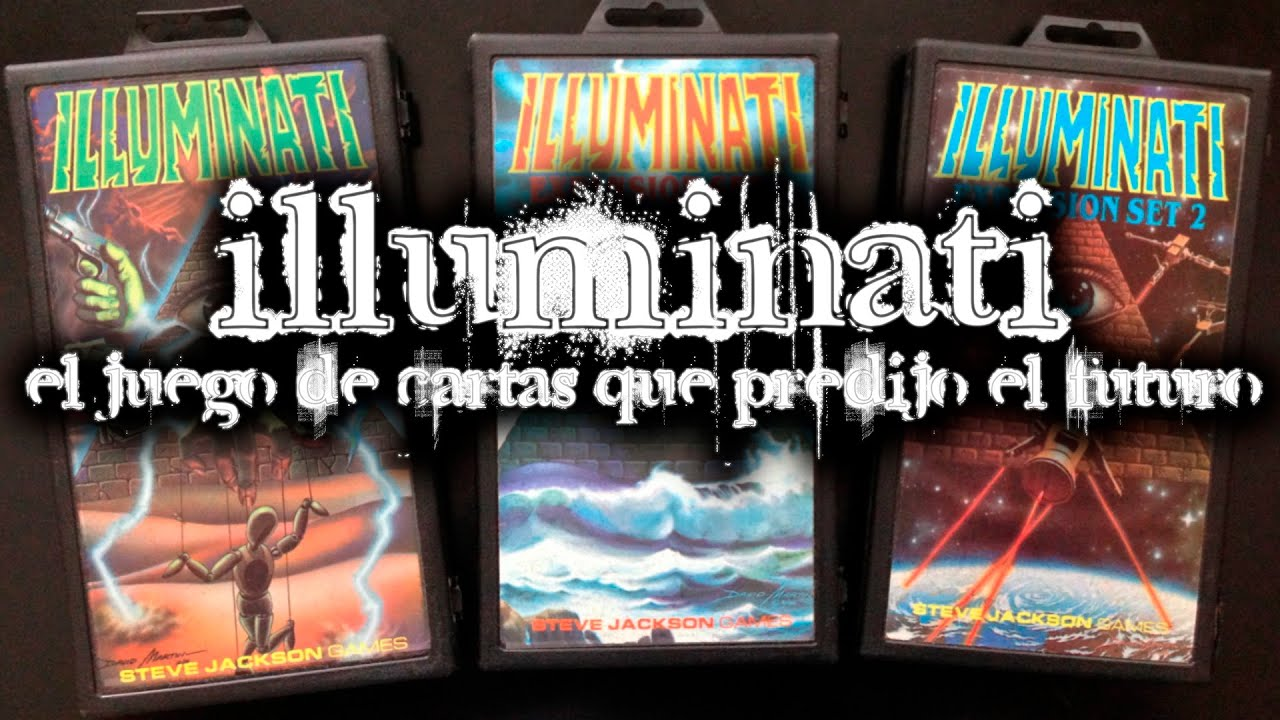 illuminati el juego de cartas que predijo el futuro