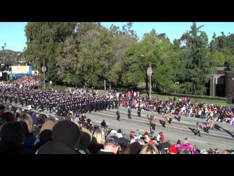 Western Carolina University (WCU) - POTM Marching Band - 2011 Pasadena Rose Parade