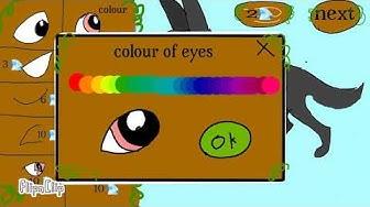 Wolf character creator game (flipaclip)