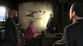 Grand Theft Auto V - The Paleto Score: Liquar Ace Chef (Meth Cook) Michael, Trevor