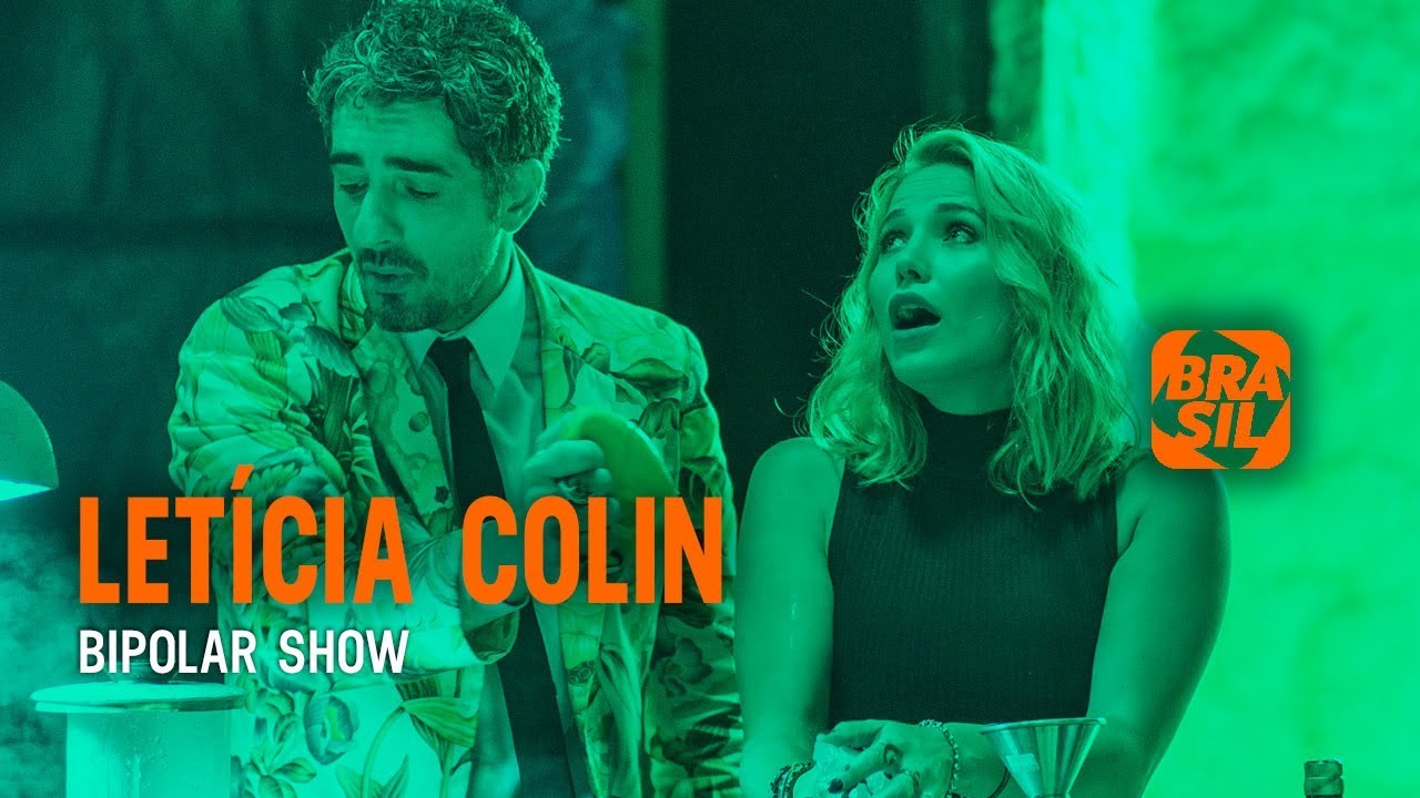 Michel Melamed e Letícia Colin l Bipolar Show - YouTube