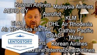 Lentostory: Alas ammutut koneet