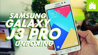 Samsung Galaxy J3 Pro Unboxing + Hands-on