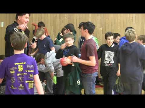 Community Investors- free, after school Dodgeball Day Feb. 2017