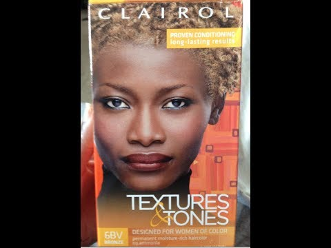 I Colored My Natural Hair Textures And Tones Bronze Youtube