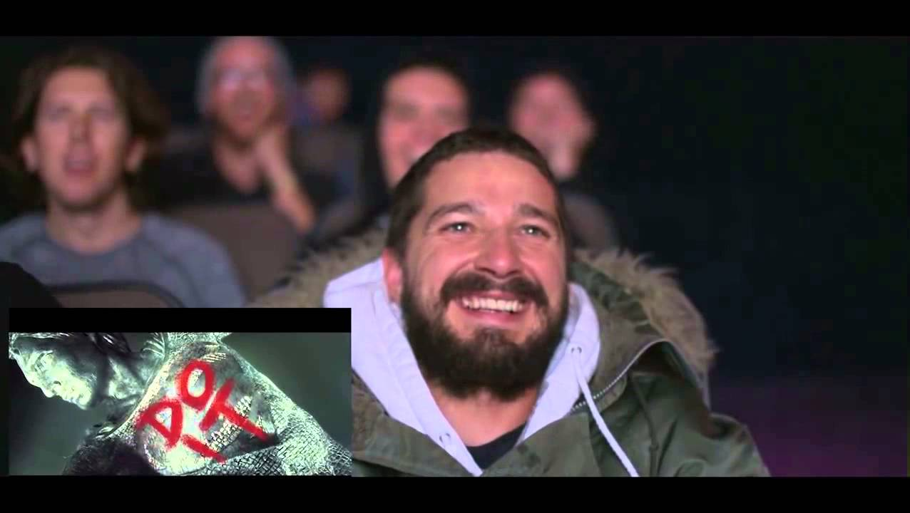 Реакция Шайа ЛаБафа на пародию его JUST DO IT - YouTube шайа лабаф сошел с ума