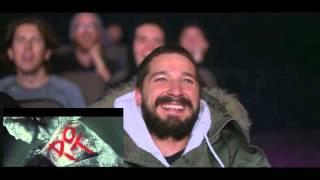Реакция Шайа ЛаБафа на пародию его JUST DO IT