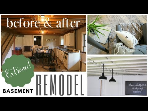 Basement Remodel  ~ Industrial Design ~ Etsy Shop Office Tour ~ DIY Basement Remodel