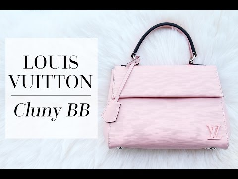 Louis Vuitton Cluny BB: First Impressions & Alma BB Comparison! | Chase Amie
