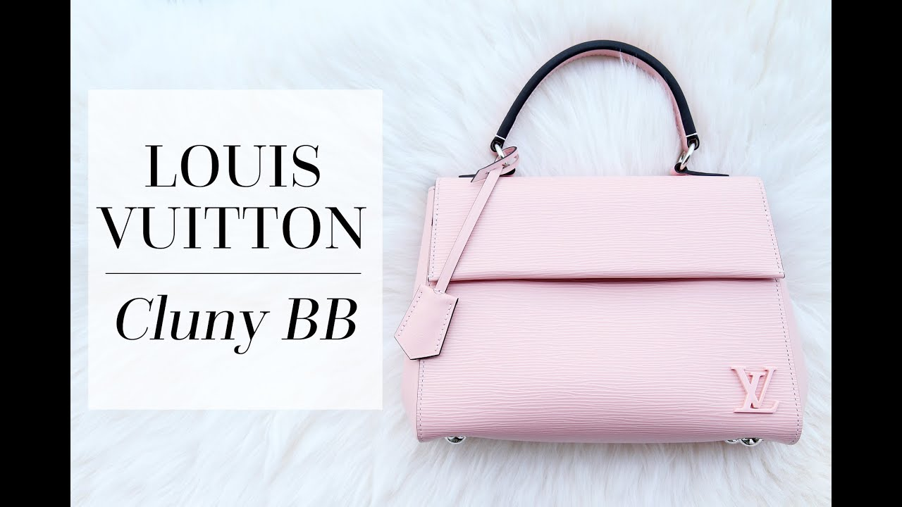a2194469e16c Louis Vuitton Cluny BB: First Impressions & Alma BB Comparison! | Chase Amie
