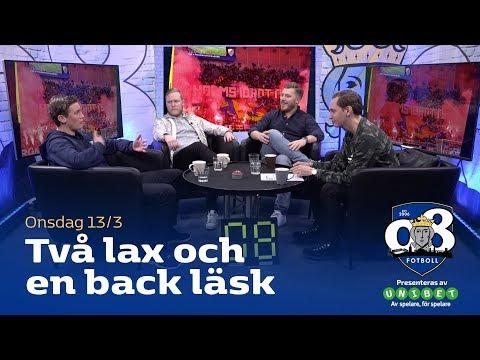 08 Fotboll: Två lax och en back läsk