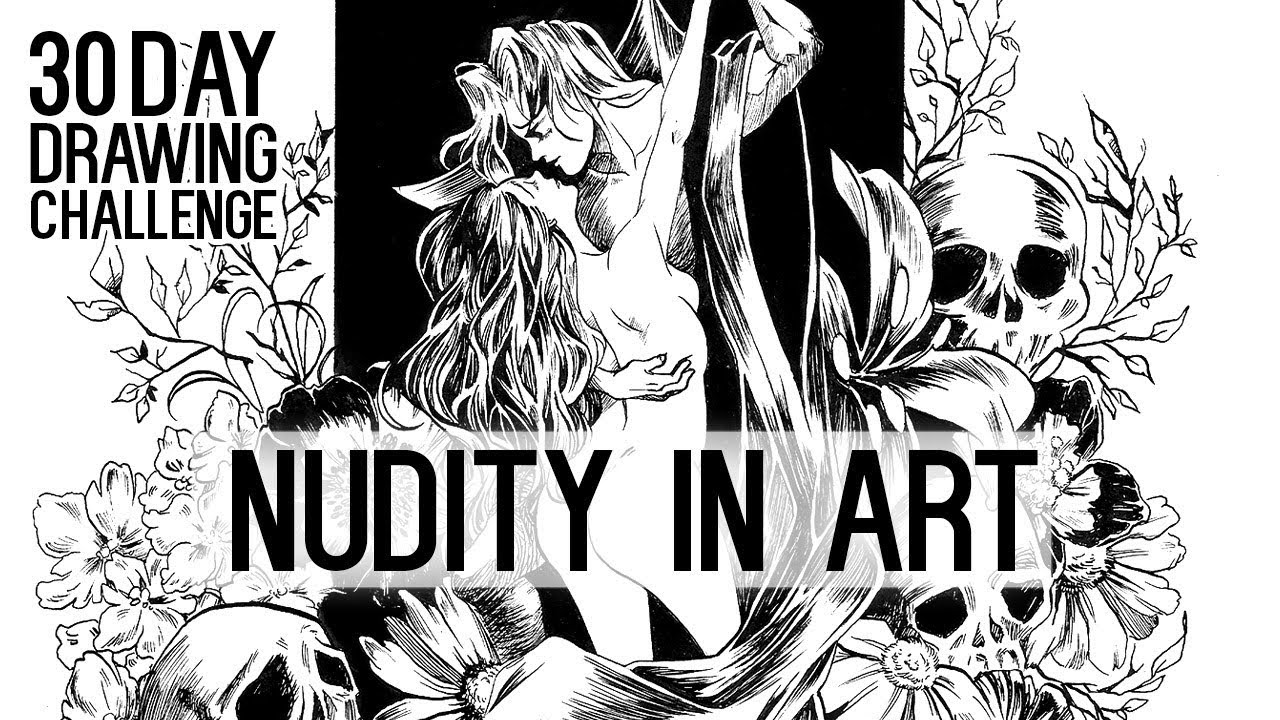 What nudity in art means ★ day 5 ★ 30 day drawing challenge