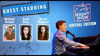 S3 Ep6 American Idol's Michael Orland plays w Josh, Sami Bray talks Bedwetter, Ariela Rozentul sings