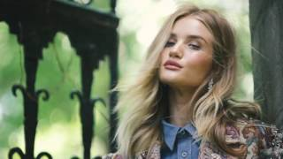 BTS - Shooting Rosie Huntington-Whitely for Harper Bazaar UK September 2016