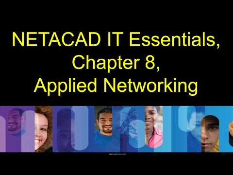 NETACAD IT Essentials, Chapter 8, Applied Networking