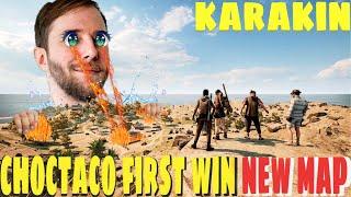 ChocoTaco First Win New Pubg Map Karakin