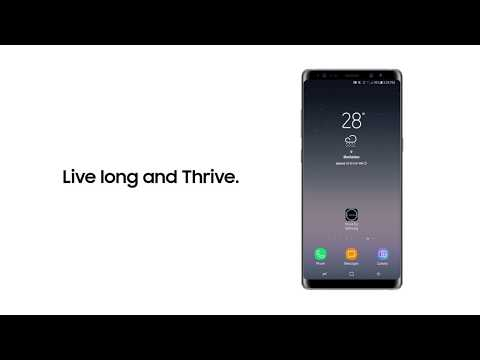 Galaxy Note8: THRIVE for Samsung