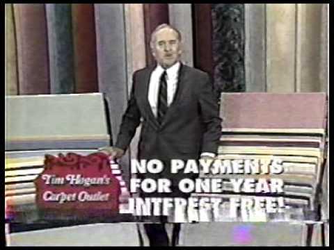 Tim Hogan S Carpet Outlet Ad Youtube
