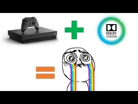 Xbox One S Dolby Vision