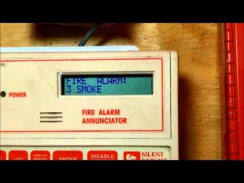 NEW FIRE ALARM ITEM: Silent Knight 5230 Annunciator SHOW OFF/PROGRAMMING
