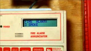 NEW FIRE ALARM ITEM: Silent Knight 5230 Annunciator SHOW OFF/PROGRAMMING