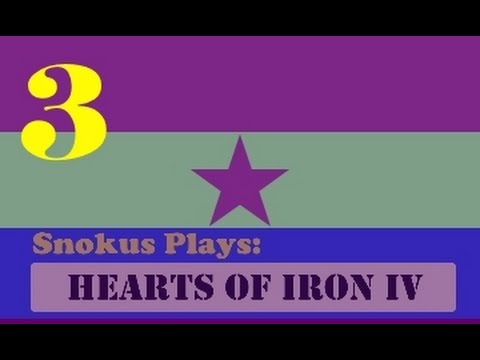Snokus plays: Hearts of Iron 4 - The second Spanish republic [Part 3]