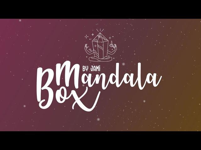 Mandala Box | Mandalas de cristais