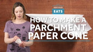 How to Make a Paper Piping Bag | Serious Eats