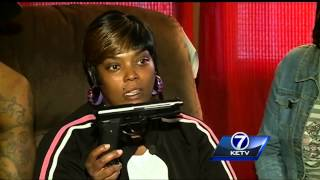 Family talks about armed robbery suspect killed Tuesday night