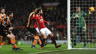 MANCHESTER UNITED 2-0 HULL CITY | MATA AND FELLAINI GOALS WIN IT
