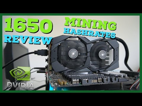 Is The Nvidia 1650 Worth It For Mining Or Gaming? 1650 Mining Hashrates \u0026 Review