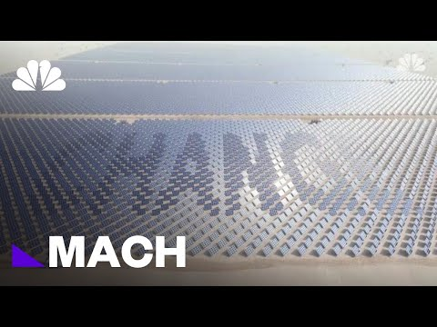 Supersized Solar Farms Are Being Constructed Across The World (And Soon In Space) | NBC News