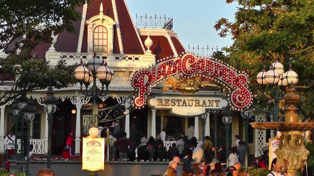 Plaza Gardens Restaurant Disneyland Paris