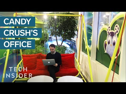Inside Candy Crush's Office In Sweden