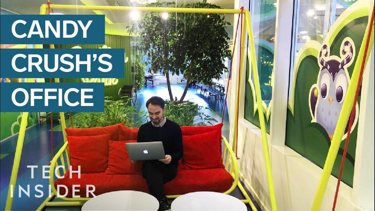 Како изгледа канцеларијата на Candy Crush во Шведска?