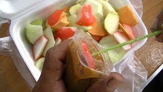Jakarta Street Food 351 Fruit Salad Rujak Co'el Bunga Rampai Tivi 1855