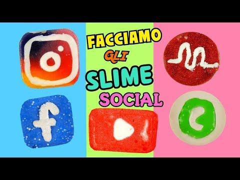 Download Youtube: FACCIAMO SLIME SOCIAL (INSTAGRAM,YOUTUBE,MUSICAL.LY,FACEBOOK,WHATSAPP) + ASMR Iolanda Sweets