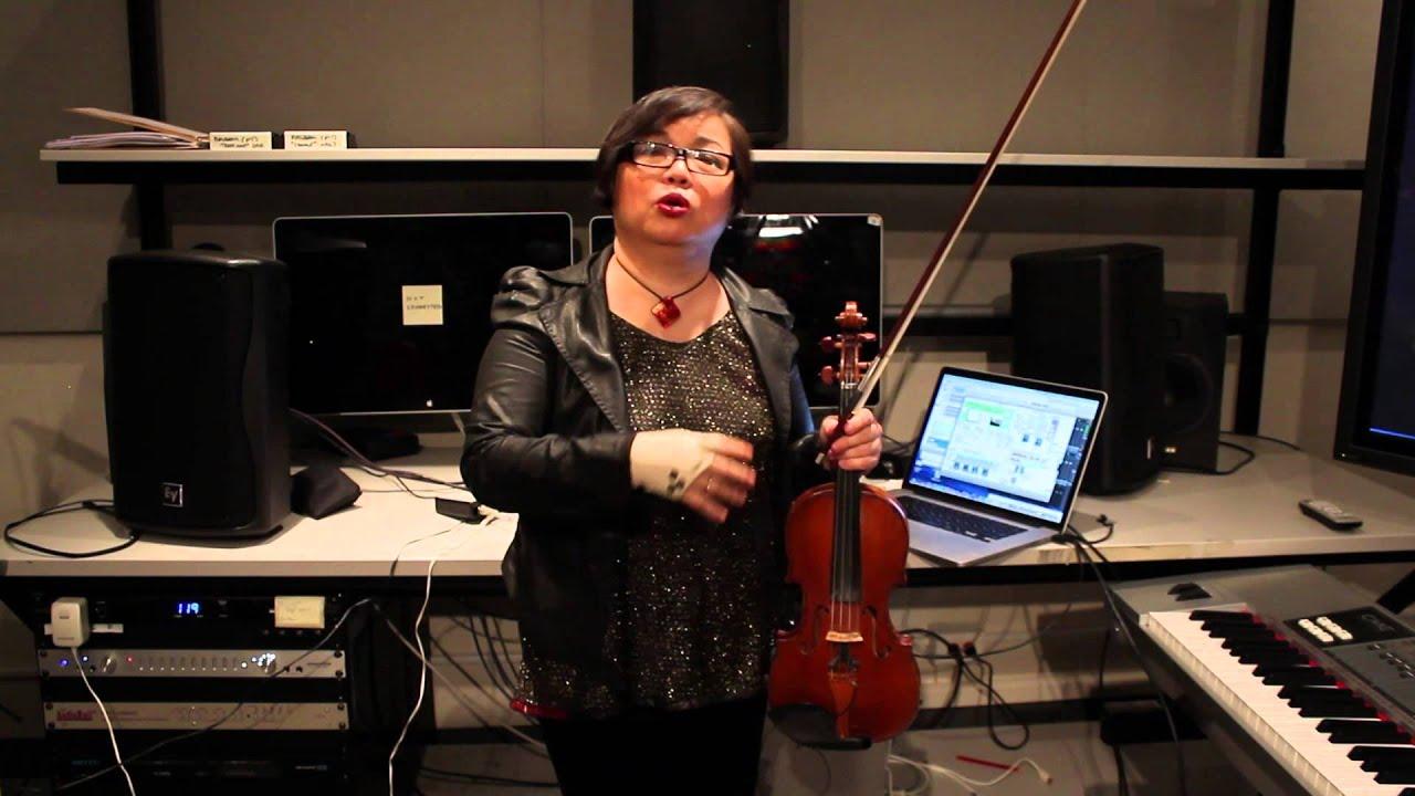Mari Kimura's Augmented Violin: Juilliard Journal