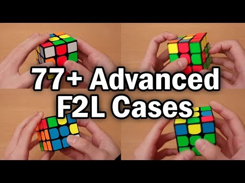 Best Algorithms For ALL F2L Cases (pdf)